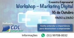 16/10 Encontro Empresarial - Marketing Digital