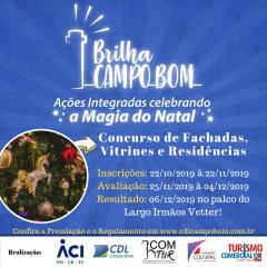 Participe do CONCURSO DE FACHADAS, VITRINES e RESIDENCIAS