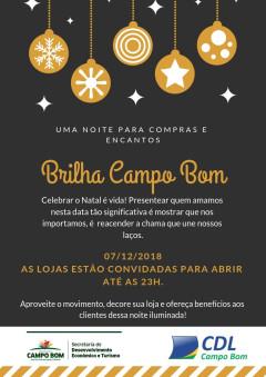 Brilha Campo Bom - Em breve mais informações!