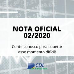 CDL Campo Bom cobra alterações no Decreto Estadual que viabilize a abertura do Comércio