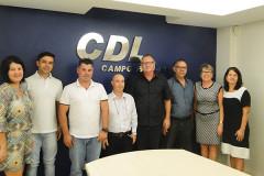 CDL Campo Bom empossa nova diretoria