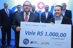 CDL recebe prêmio na campanha Superação 2016