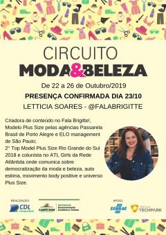 Circuito Moda & Beleza - Palestrante convidado