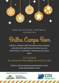 Confira as empresas participantes do BRILHA CAMPO BOM
