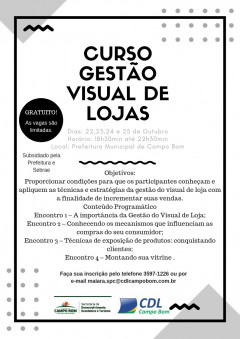 Curso: Gestão Visual de Lojas