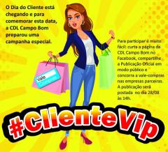 Ganhadores Campanha #ClienteVip