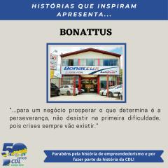 HISTÓRIAS QUE INSPIRAM APRESENTA: BONATTUS