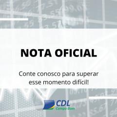 NOTA OFICIAL CDL - COVID-19