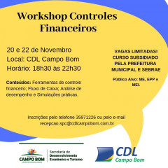 Workshop: Controles Financeiros