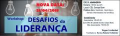 Workshop: Desafios da Liderança - DATA ALTERADA