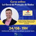 CURSO ONLINE: LEI GERAL DE PROTEÇÃO DE DADOS